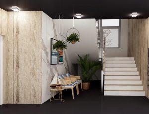 Apartamenty Dziwnów - klatka schodowa