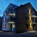 Oświetlenie apartamentów w Dziwnowie