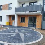 Apartamenty Dziwnów Klimaty Bałtyku wykończenie wejścia budynek pierwszy